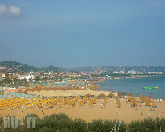 RU-IT | Море и пляжи Пескары